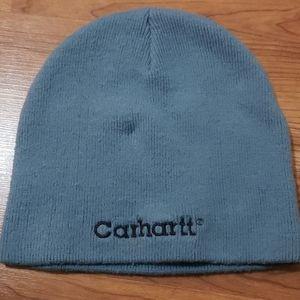 Blue Carhartt beanie